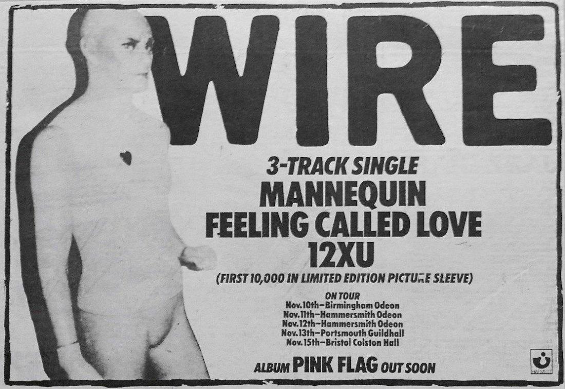Wire_-_Mannequin_ad